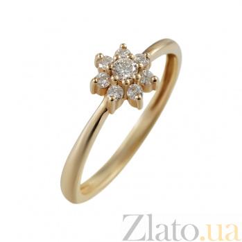 Золотое кольцо с бриллиантами Келлена 000026524