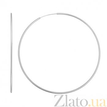 Серебряные серьги Deco 10030168