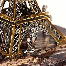 Серебряная статуэтка с позолотой Душа Парижа
