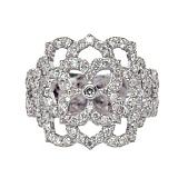 Золотое кольцо с бриллиантами Aurora