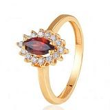 Золотое кольцо с гранатом Сантьяго