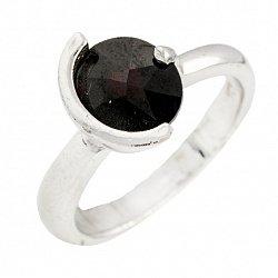 Серебряное кольцо Милена с гранатом
