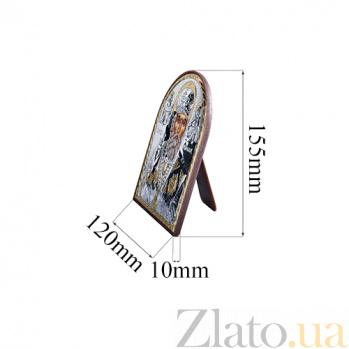 Икона Николая Чудотворца из серебра с позолотой AQA--EP4-009PAG