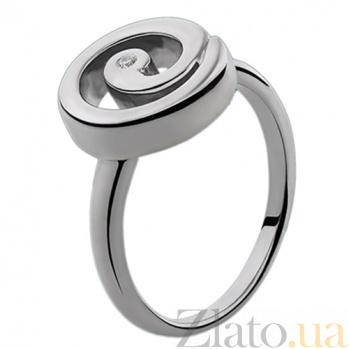 Серебряное кольцо с бриллиантами Luna 79101499