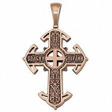 Крестик из золота Возрождение