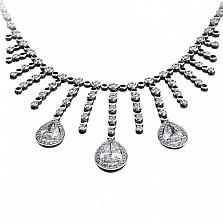 Золотое колье с бриллиантами Галатея