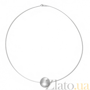 Серебряное колье Артемида ONX--18056