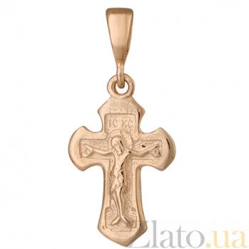 Серебряный крестик Новая жизнь 000025230