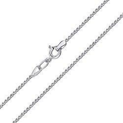 Серебряный браслет в плетении колосок, 1,5 мм 000140630