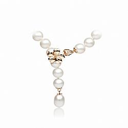 Ожерелье жемчужное Афины с золотым замком