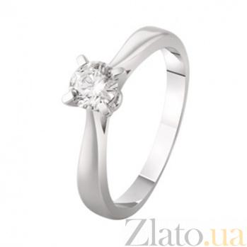 Золотое кольцо с бриллиантом Арлет KBL--К1944/бел/брил