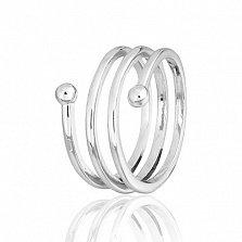 Кольцо фаланговое Пружинка