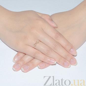Кольцо в красном золоте Марианна с фианитами SVA--1101133101/Фианит/Цирконий