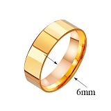 Золотое обручальное кольцо Classic Style