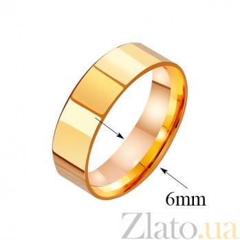 Золотое обручальное кольцо Classic Style TRF--4110556