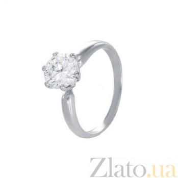 Серебряное кольцо для помолвки AQA--71497б