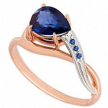 Золотое кольцо Лаздона с сапфирами