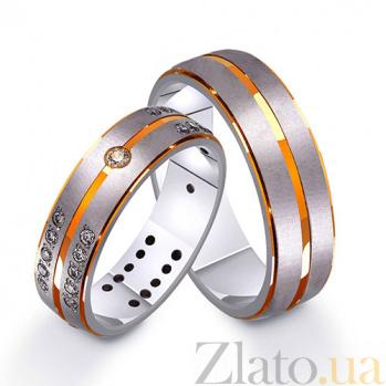 Золотое обручальное кольцо Первый вальс TRF--411217