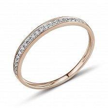 Золотое кольцо Амина с бриллиантами