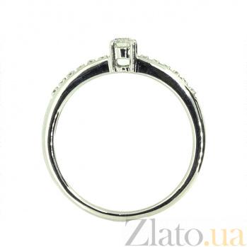 Кольцо из белого золота с бриллиантами Хлоя 000021460