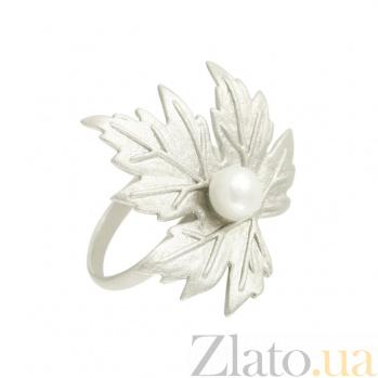 Серебряное кольцо с жемчугом Лолита 3К011-0022