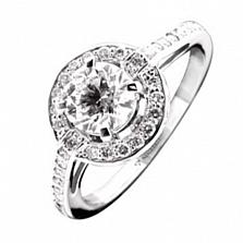 Золотое кольцо с бриллиантами Джастина