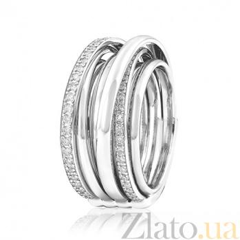 Золотое кольцо с брилиантами Фрида EDM--КД/1Д