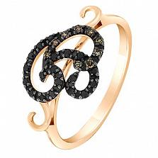 Золотое кольцо Дамиана  с бриллиантами