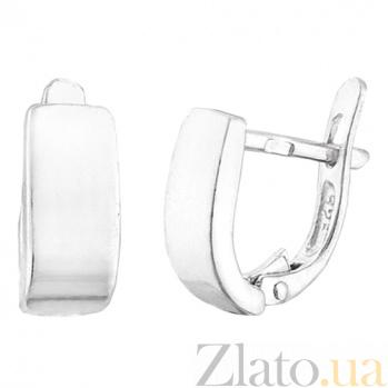 Серебряные серьги Валлетта SLX--С2/100