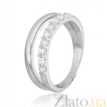 Серебряное кольцо с цирконием Мардж 000025753
