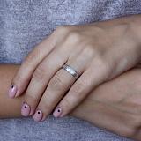 Золотое обручальное кольцо Восхищение