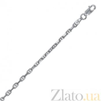 Серебряная цепь Порто Кристо 000027774