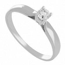 Золотое кольцо с бриллиантом Любимая
