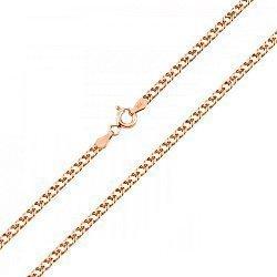 Серебряная цепочка с позолотой, 2 мм 000071960