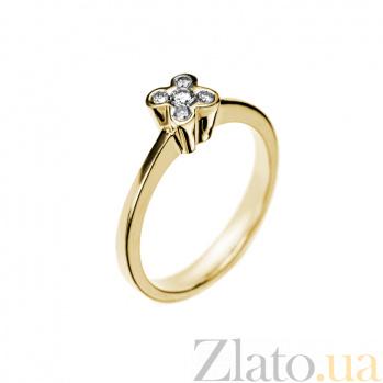 Кольцо в желтом золоте Dreaminess с бриллиантами 000079274