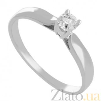 Золотое кольцо с бриллиантом Любимая VLN--122-1062*