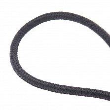 Шелковый шнурок Прекрасное дополнение с серебряной застежкой