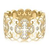 Обручальное кольцо из желтого золота Калейдоскоп Любви: В ожидании Чуда