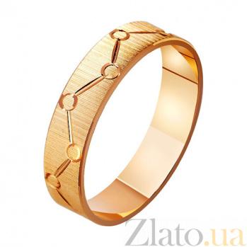 Золотое обручальное кольцо Стиль TRF--411079