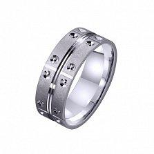 Золотое обручальное кольцо My Тender Нeart
