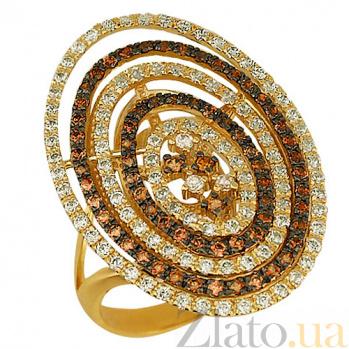 Кольцо из желтого золота Виринея VLT--ТТ183-1