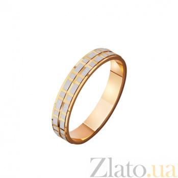 Золотое обручальное кольцо Старинная история любви TRF--4111123