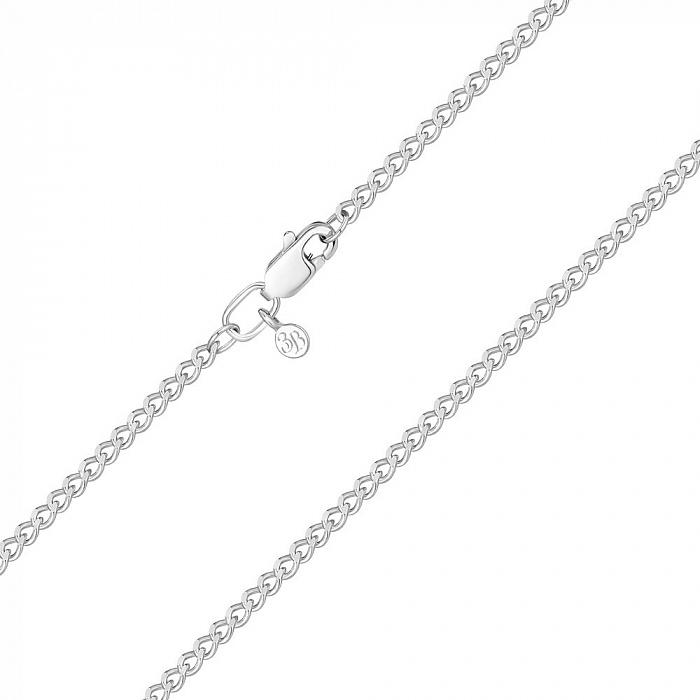 Серебряная цепочка в панцирном плетении 2 мм 000123162 000123162
