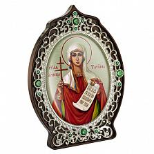 Латунная икона с образом Святой великомученицы Татианы