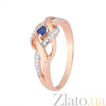 Серебряное кольцо с цирконием Раялла 000028450
