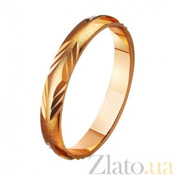 Золотое обручальное кольцо Прима TRF--411158