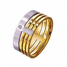 Золотое обручальное кольцо Подлинная любовь