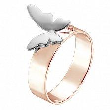 Кольцо Анабель в розовом и белом золоте