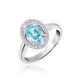 Серебряное кольцо Фурор с фианитами