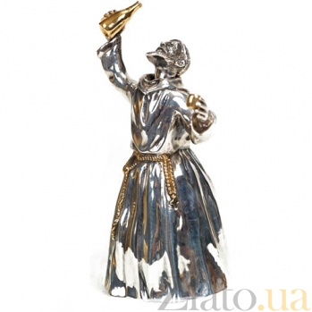 Серебряный колокольчик Веселый монах 622